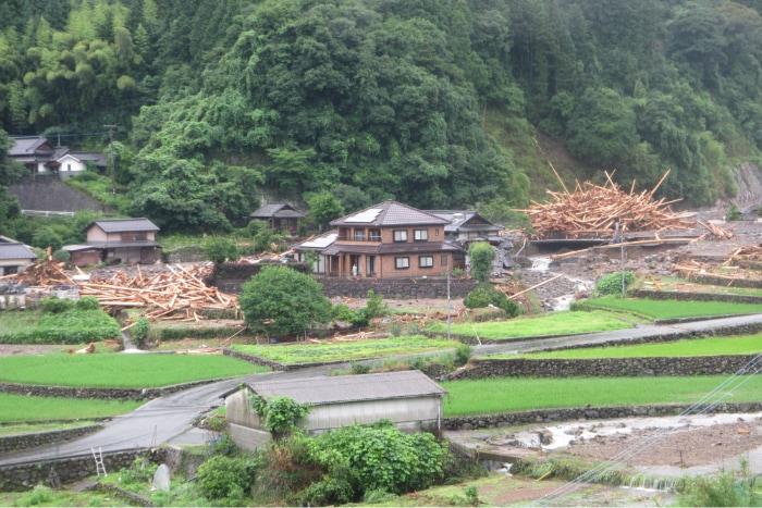 九州北部豪雨被害1