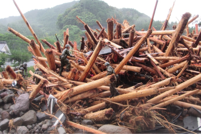 九州北部豪雨被害2