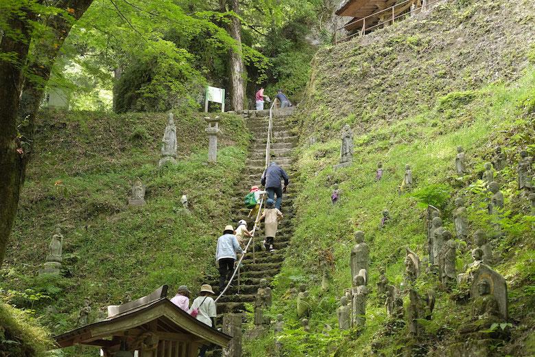 歴史深い岩屋神社をトレッキング